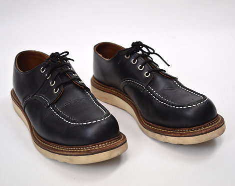 RedWing Black Leather Shoes Size 10