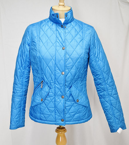 Barbour Light Blue Quilted Jacket Size 6