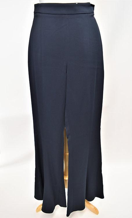 Cushnie Et Ochs Navy Flowy Pants Size 8