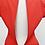 Thumbnail: Diane Von Furstenberg Red Dress Size 14