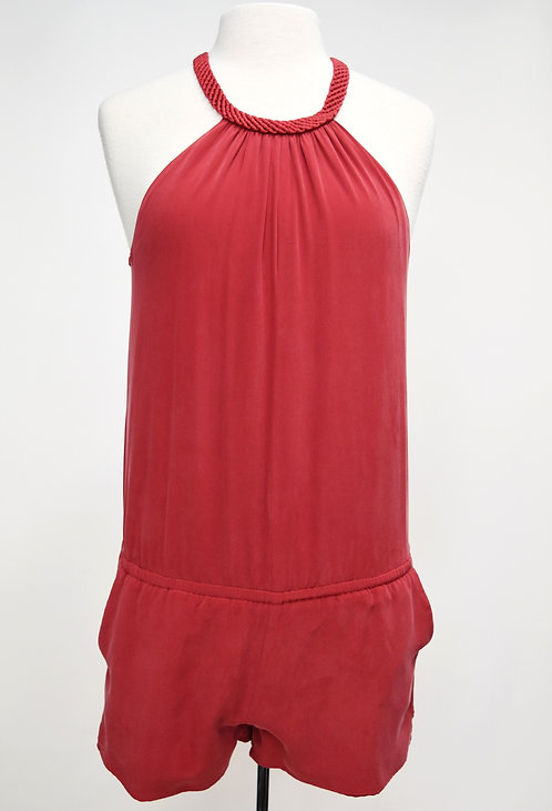 Joie Red Romper Size Small