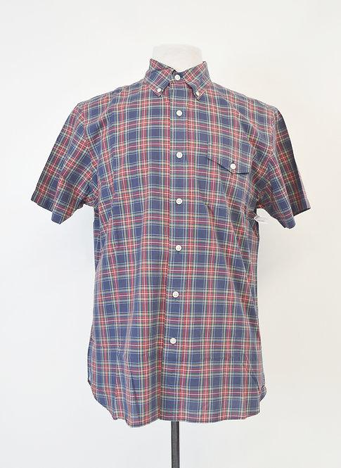 Ralph Lauren Navy & Red Plaid Shirt Size Medium