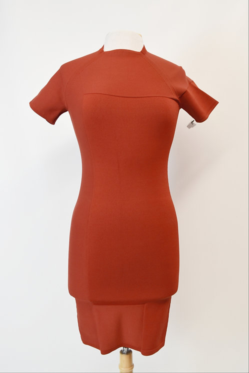 Alexander Wang Red Bodycon Dress Size Small