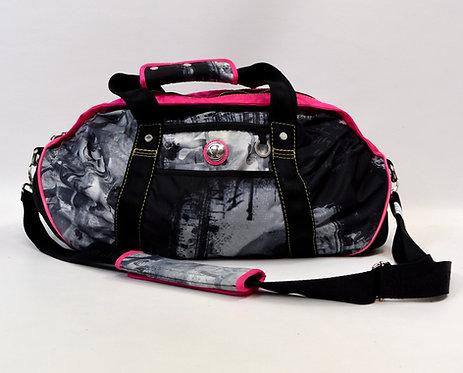 Lululemon Black & Pink Print Duffle Bag