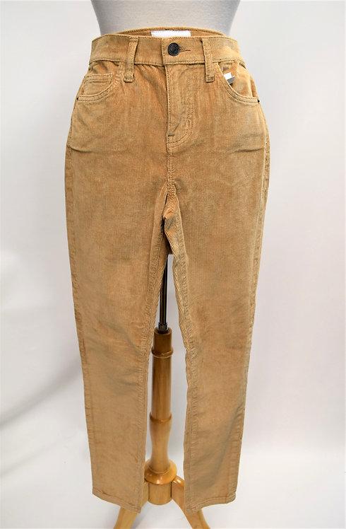 Current Elliott Tan Corduroy Skinny Pants Size 26