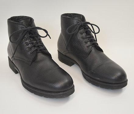 Aquatalia Black Leather Boots Size 10