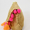 """Thumbnail: Lilly Pulitzer Woven """"Clam Shell Clutch"""""""