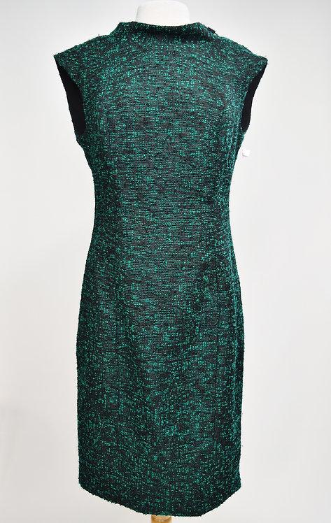 Badgley Mischka Green & Black Dress Size 12