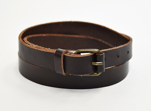 Marc Jacobs Brown Leather Belt Size S/M