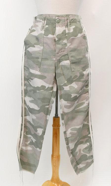 Mother Gray Camo Print Pants Size 25