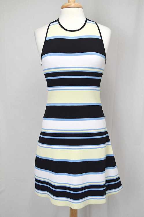 A.L.C. Black & Yellow Stripe Dress Size Small (4)