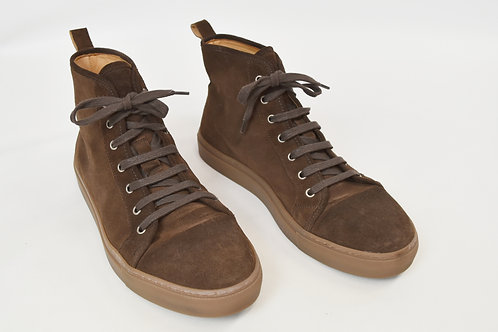 SuitSupply Brown High-Top Sneakers Size 12