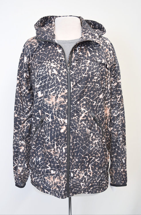 Lululemon Gray Print Jacket Size Medium (8)