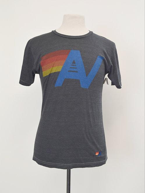 Aviator Nation Gray Graphic T-Shirt Size Medium
