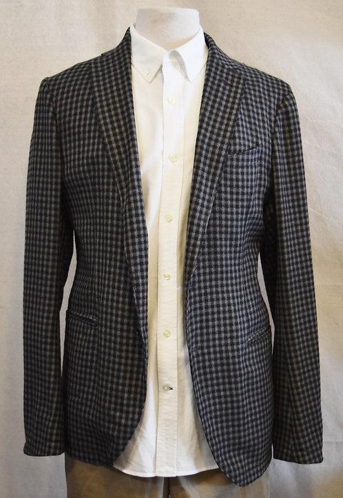 Armani Collezioni Gray Plaid Blazer Size 40R