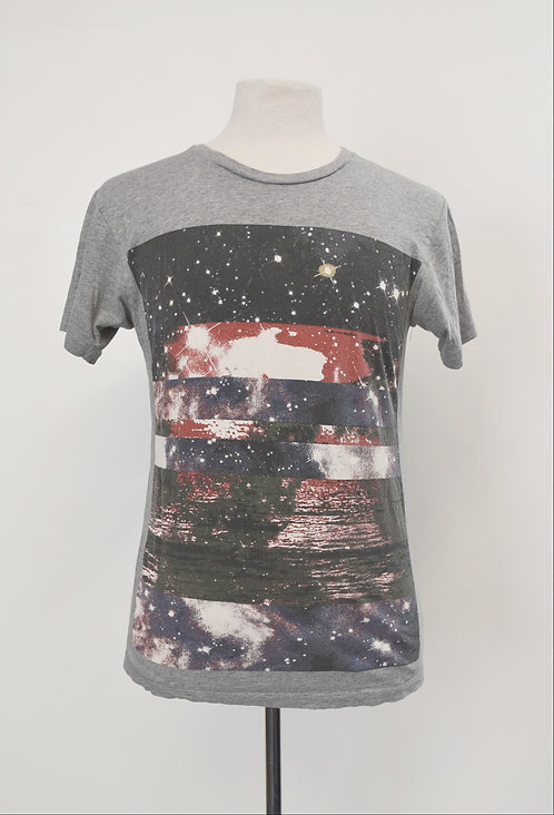 Marc Jacobs Gray Graphic T-Shirt Size Small