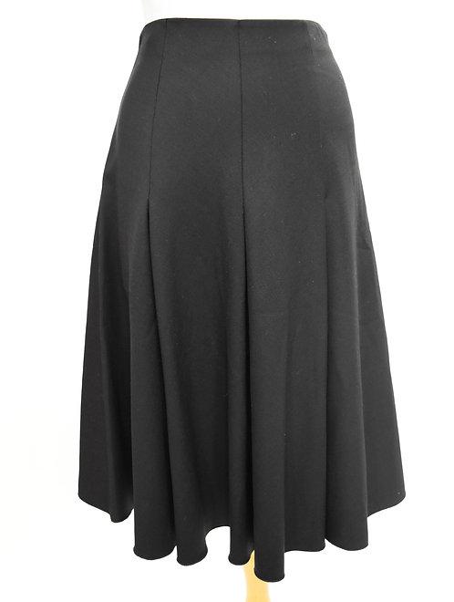 Dusan Black Circle Skirt Size Medium