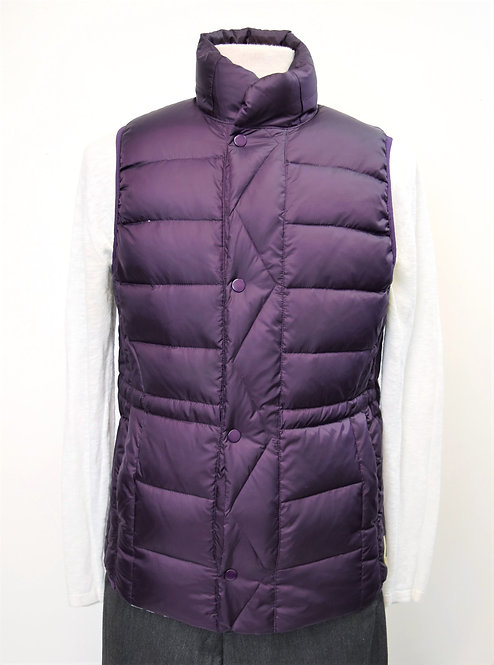 Paul Smith Purple Quilted Vest Size Small