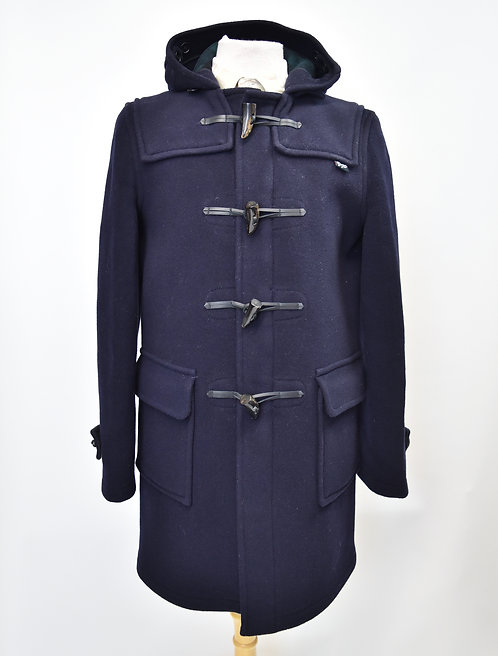 Gloverall Navy Wool Coat Size Small