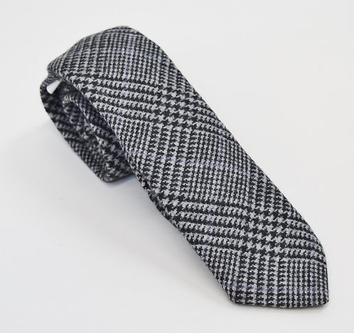 Brooks Brothers Black Fleece Gray Knit Tie
