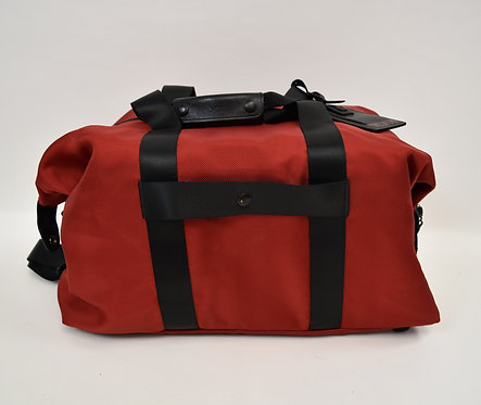 Tumi Red & Black Duffle Bag