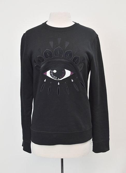 Kenzo Black Evil Eye Sweatshirt Size Small