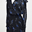 Thumbnail: Parker Black Floral Print Dress Size Large