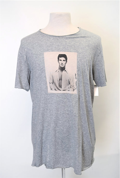 Dolce & Gabbana Gray Graphic T-Shirt Size Large