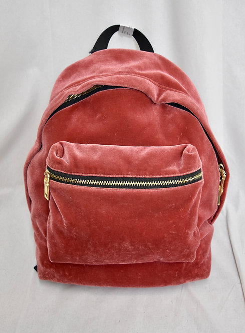 Sandro Rose Velvet Backpack