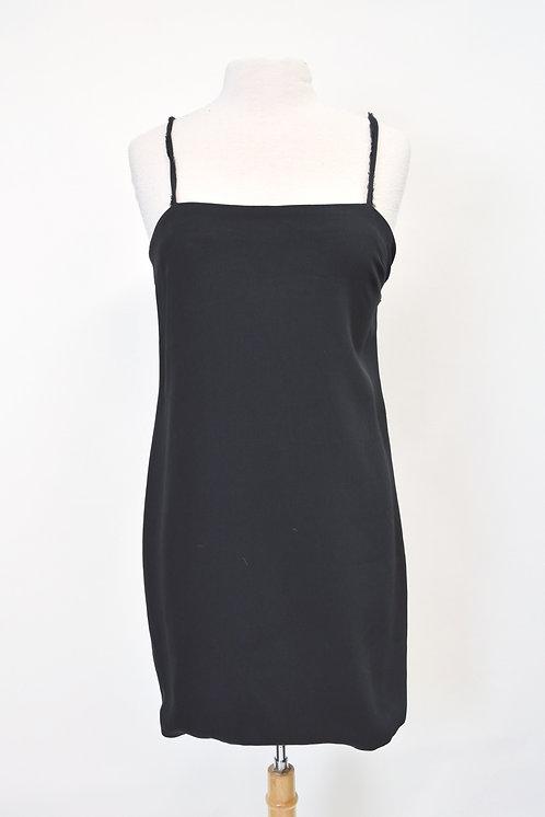 Helmut Lang Black Mini Dress Size 8