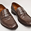 Thumbnail: Aquatalia Brown Leather Loafers Size 7