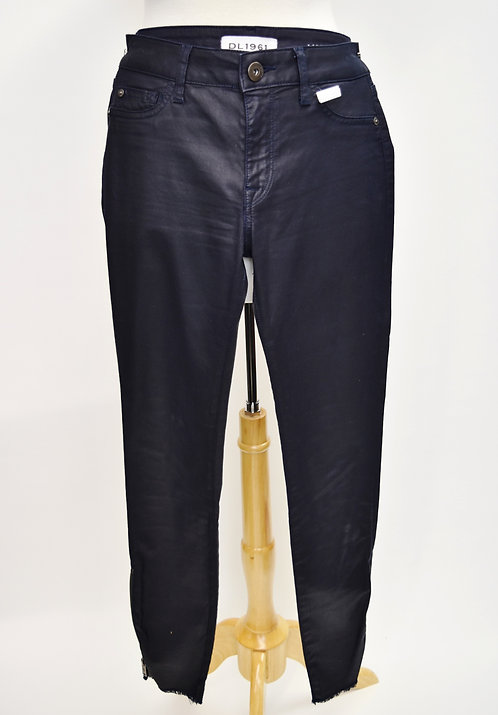 DL1961 Margaux Coated Skinny Jeans Size 27