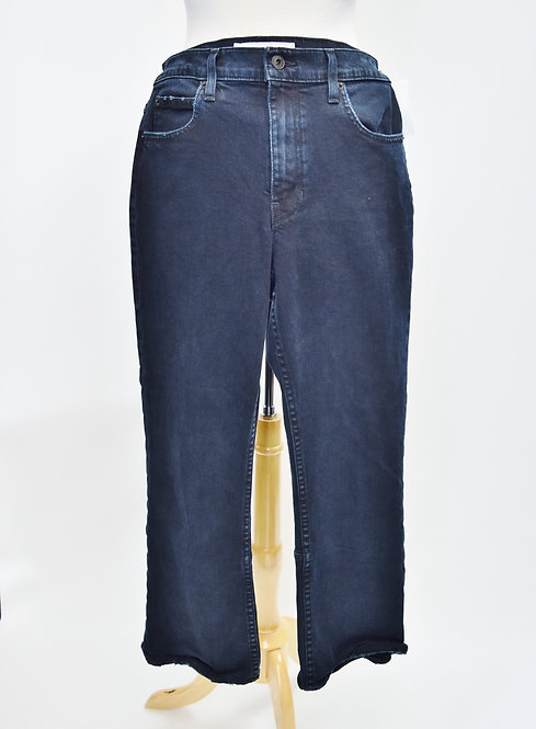 Proenza Schouler Dark Wash Cropped Flair Jeans Size 27