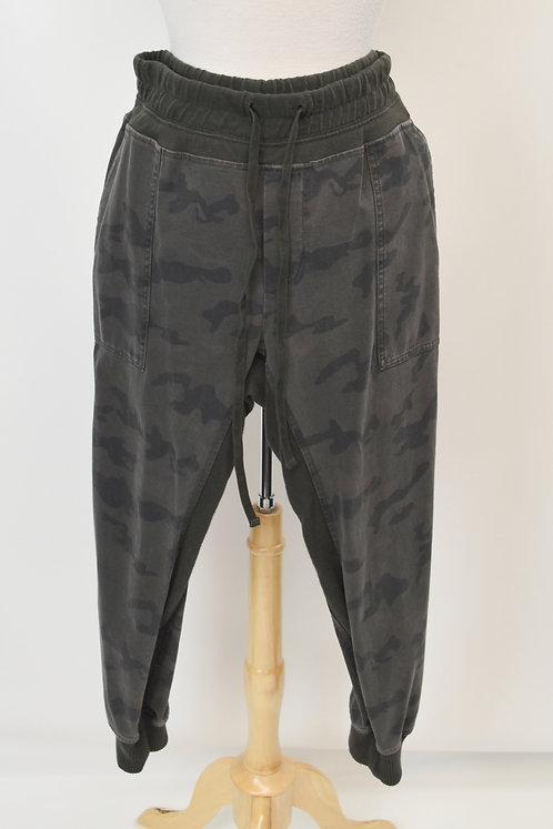 James Perse Gray Camo Jogger Pants Size Large
