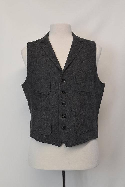 Rag & Bone Gray Vest Size Large (42)