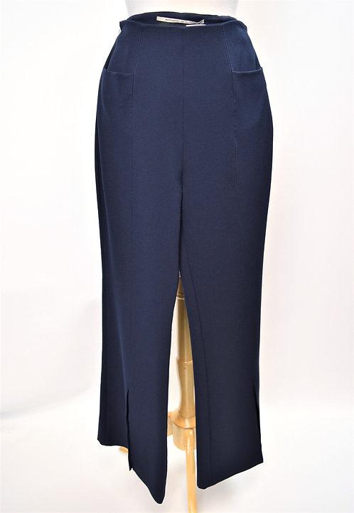 Roland Mouret Navy High Rise Pants Size 8
