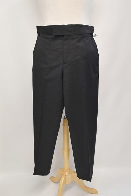 Alexander McQueen Black Dress Pants Size 34