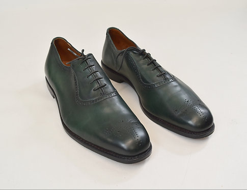 Allen Edmonds Dark Green Leather Shoes Size 12