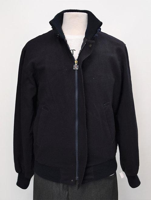 Paul & Shark Black Zip-Up Jacket Size Large