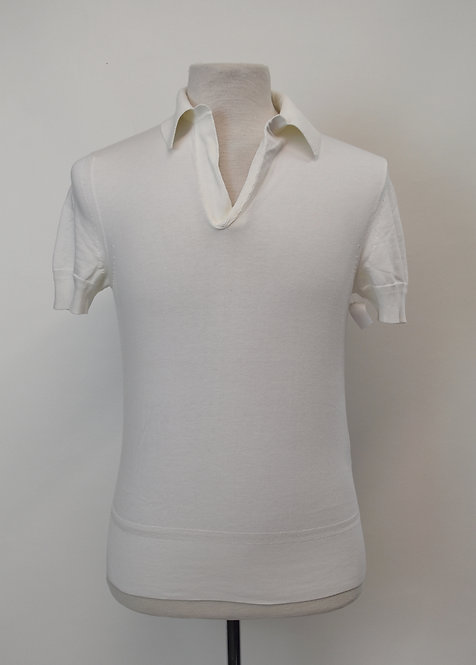 Tom Ford White Polo Shirt Size Small