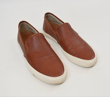 Frye Brown Leather Slip On's Size 12