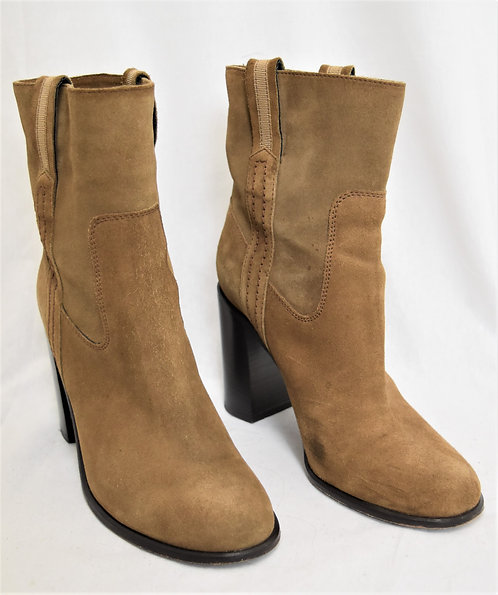 Kate Spade Brown Suede Boots Size 8.5