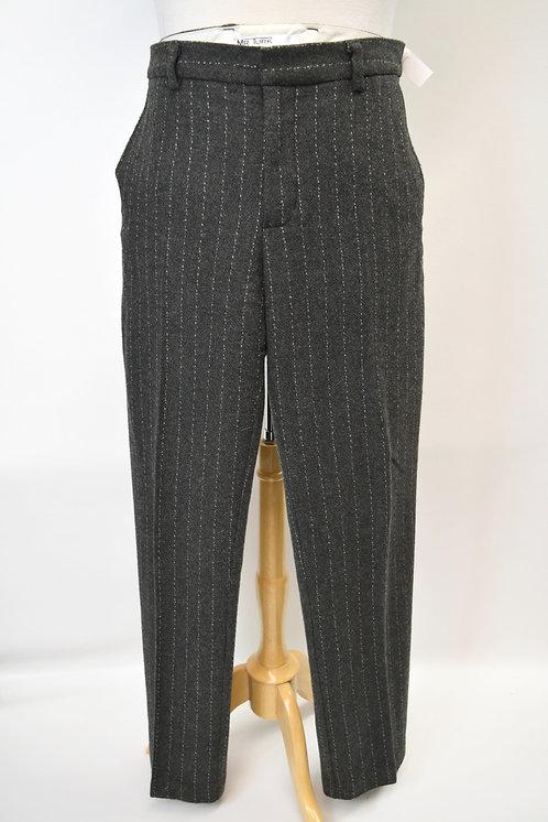 Mr Turk Gray Wool-Blend Pants Size 38