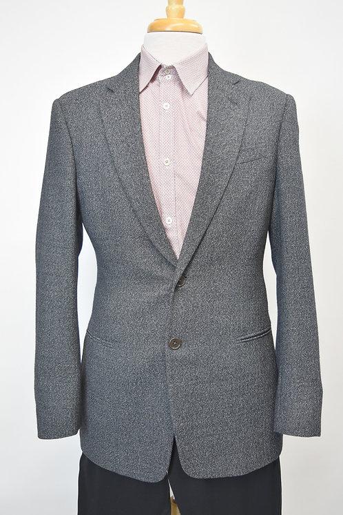 Armani Collezioni Black Speckled Blazer Size 38R