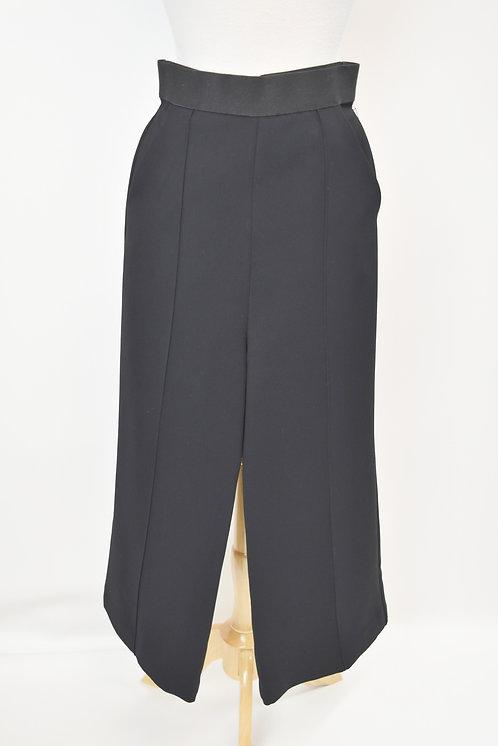 Self-Portrait Black Wide Leg Pants Size Small (4)