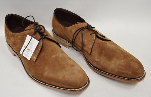 Loake Tan Suede Shoes Size 10.5