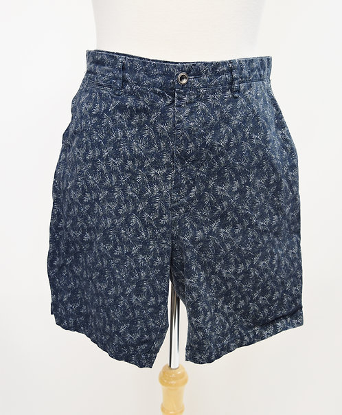 Rodd & Gunn Navy Print Shorts Size 34L