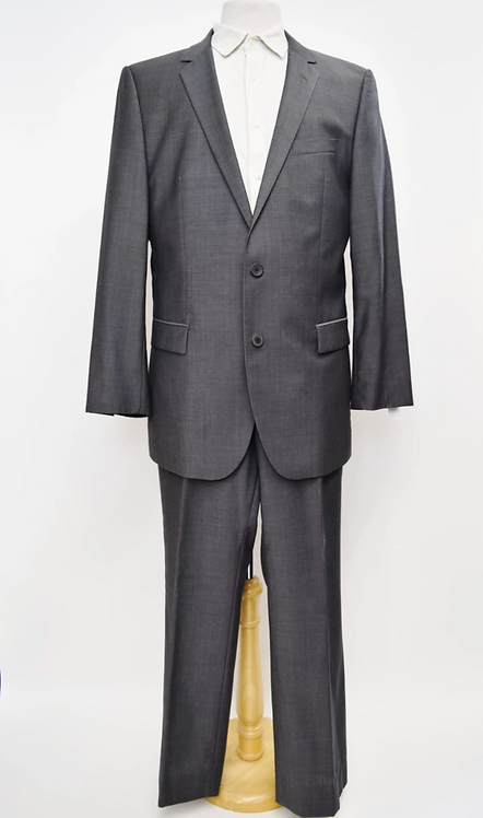Hugo Boss Gray Suit Size 44R