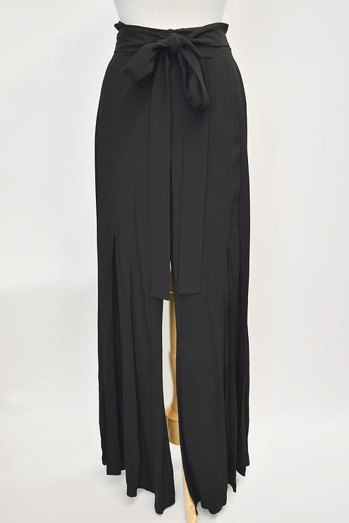 Alexis Black High Rise Flowy Pants Size XS