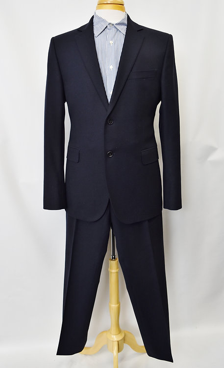 """Costume National Navy """"City"""" Suit Size 42R"""